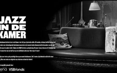 Jazz in de kamer bij Belgica Leiden