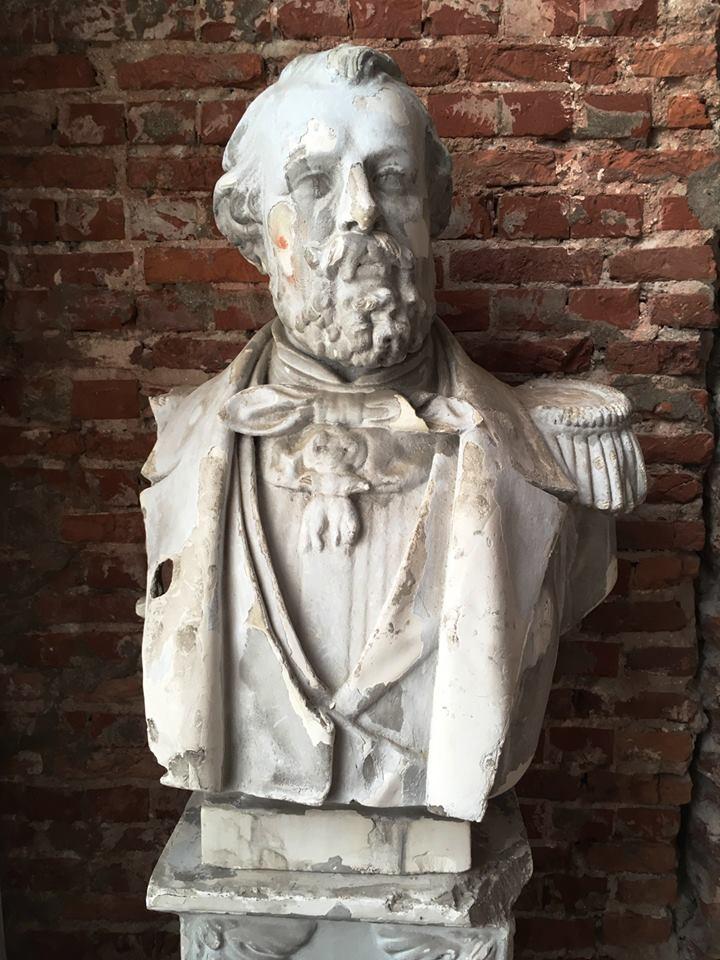 Nieuws over Belgica - borstbeeld van Willem 3