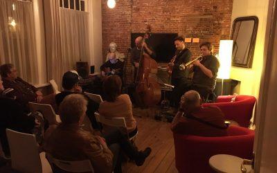 Jazz in de kamer met A Traveller's Tale bij Belgica groot succes